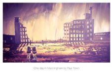One Day in Manningham framed A3 Print